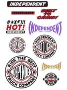 Independent Pack of 10 Stickers