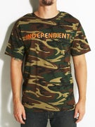 Independent Bar/Cross T-Shirt  Camo