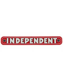 Independent Bar 4 Sticker Red