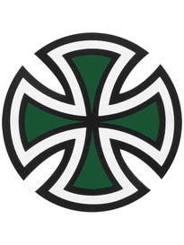 Independent Cut Cross 4x4 Sticker\  reen