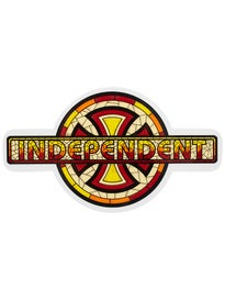 Independent Church 7x4 Sticker