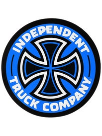 Independent Colored TC 5 Sticker\ Blue
