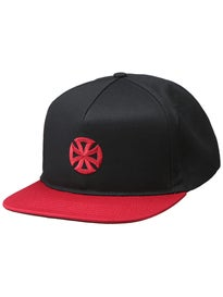 Independent Directional Cross Snapback Hat
