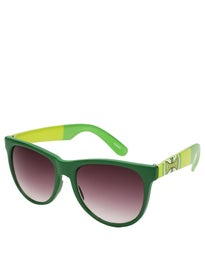 Independent DONS Square Sunglasses  Dk Green/Lt Green