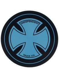 Independent Strike Cross 4 Sticker Blue