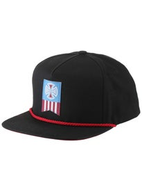 Independent Label Cross Snapback Hat