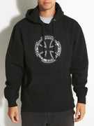 Independent Metallic Cross Hoodie