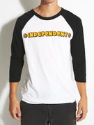 Independent Sign Paint 3/4 Sleeve Shirt