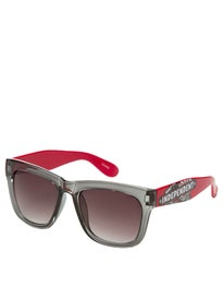 Independent Sticker Pack Sunglasses  Smoke/Red