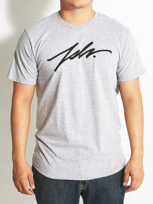 JSLV Signature Select Tee Athletic Heather LG