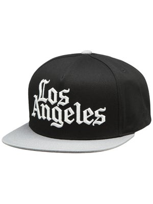 JSLV Times Snapback Hat Black/Grey