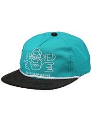 Krooked Arketype Taslan Snapback Hat