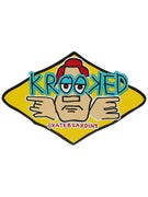 Krooked Arketype Sticker Yellow Medium