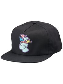 Krooked Brain On Birds Unstructured Snapback Hat