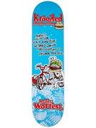Krooked Worrest Flying Burger Gang Deck 8.125 x 32