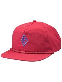 Krooked Diamond K Unstructured Snapback Hat