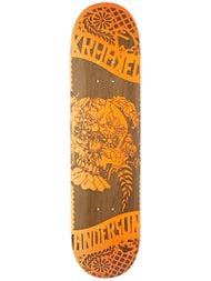 Krooked Anderson Dia De Los Krooked Deck 8.06 x 32