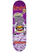 Krooked Anderson Flying Burger Gang Deck 8.25 x 32