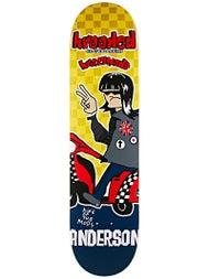 Krooked Anderson Kwadrophenia Deck 8.06 x 32