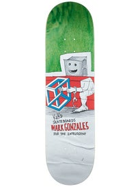 Krooked Gonz Blockhead Deck 8.62 x 32.56