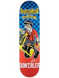 Krooked Gonz Kwadrophenia Deck 8.38 x 32.56