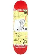 Krooked Gonz Zeroks Deck 8.38 x 32.56
