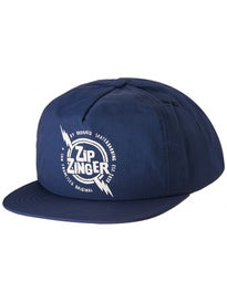 Krooked Zip Zinger Unstructured Snapback Hat