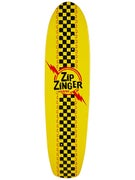 Krooked Zip Zinger Nano Yellow Deck 7.125 x 29