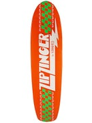 Krooked Zip Zinger Orange/Green Deck 7.5 x 30.35