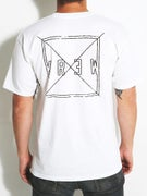 KR3W Square Distress T-Shirt