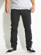 KR3W K Slim 5 Pocket Twill Pants Dark Navy