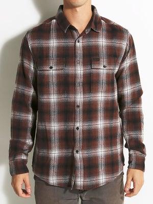 KR3W Ambush Flannel Shirt Black/Rust SM
