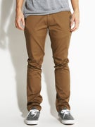 KR3W K Slim Chino Pants  Coffee