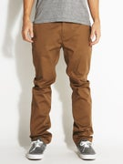 KR3W Klassic Chino Pants  Coffee
