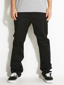 KR3W Klassic Chino Pants  Black