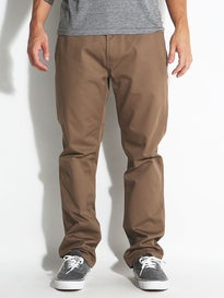 KR3W Klassic XL Rigid Chino Pants Tobacco