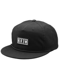 KR3W Label Snapback Hat