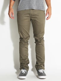 KR3W K Slim Chino Pants Light Olive