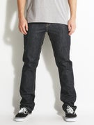 KR3W K Slim Jeans Raw Blue