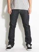 KR3W K Slim Jeans Raw Blue