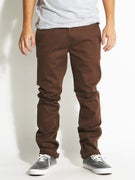 KR3W K Slim Chino Pants  Soil