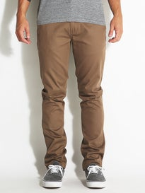 KR3W K Slim Chino Pants Tobacco