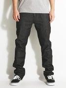 KR3W Klassic Jeans Raw Black