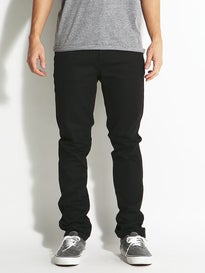 KR3W Standard Jeans Jet Black