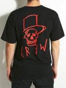 KR3W Top Hat T-Shirt