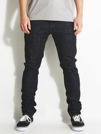 KR3W Skinny Jeans Dark Blue