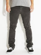 KR3W K Slim 5 Pocket Corduroy Pants  Carbon