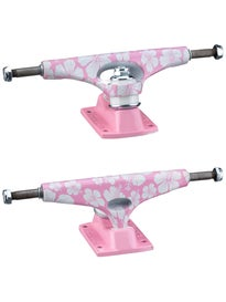 Krux Standard Forged Trucks Pink Flowers