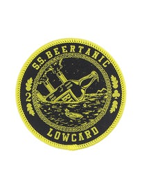 Lowcard Beer-tanic Patch