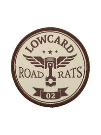 Lowcard Road Rats Patch Cream